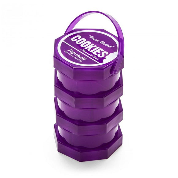Cookies SF Regular Storage Jar Purple