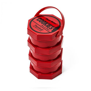 Cookies SF Regular Storage Jar Red