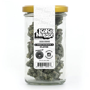 Koko Nuggz Chocolate Buds - Cookies & Cream Flavour 2.25oz