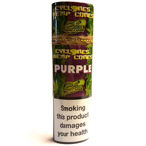 Cyclone Purple Hemp Cones Double Pack