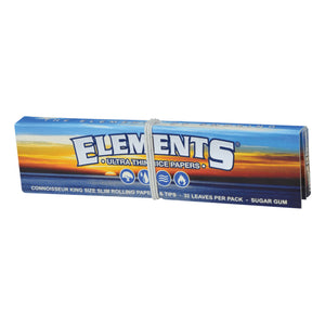 Elements Connoisseur KingSize Slim Papers & Tips
