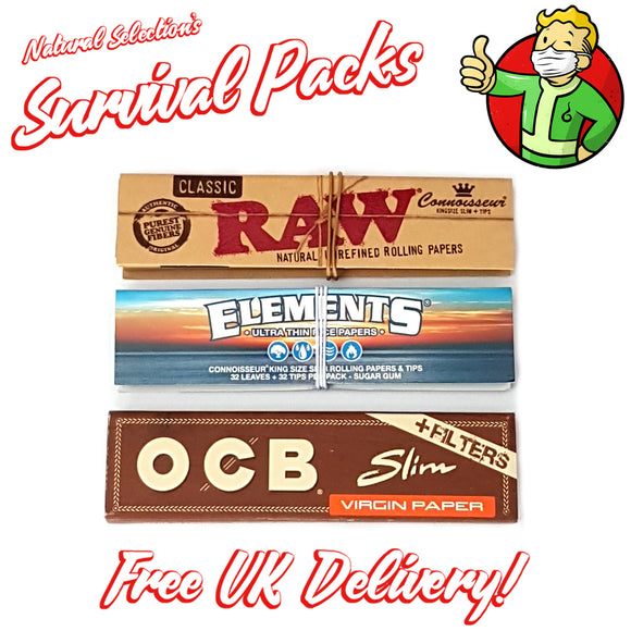 Survival Pack - Skins & Roach Connoisseur Packs
