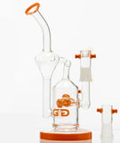 Grace Glass Oil Rig & Herb Bong Recycler Gift Set