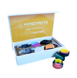 HoneyWorks 6 Small Silicone Honey Pots