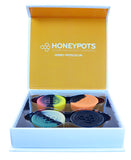 HoneyWorks 4 Large Silicone Honey Pots