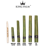 "King Palm ""Mini Rolls"" Pre-roll 5 Pack 0.8 grams"