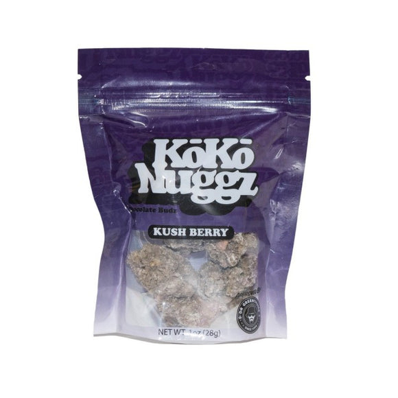 Koko Nuggz Chocolate Buds - Kush Berry Flavour 1oz