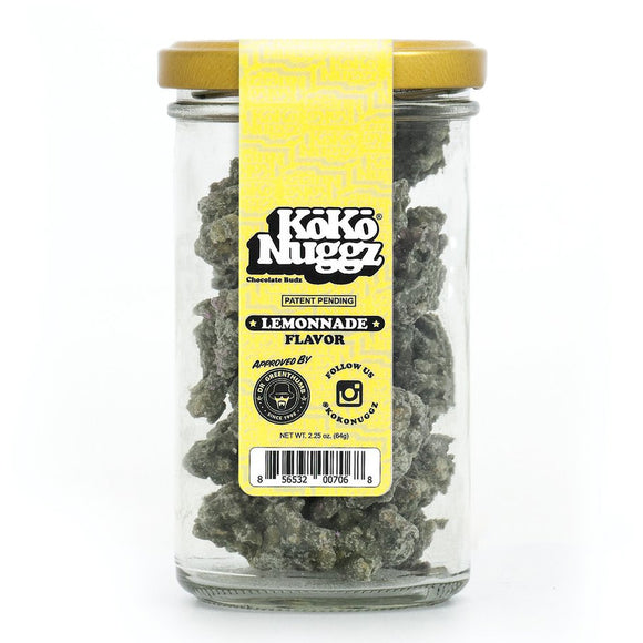 Koko Nuggz Chocolate Buds - Lemonnade Flavour 2.25oz