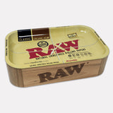 RAW Cache Wooden Box with Tray