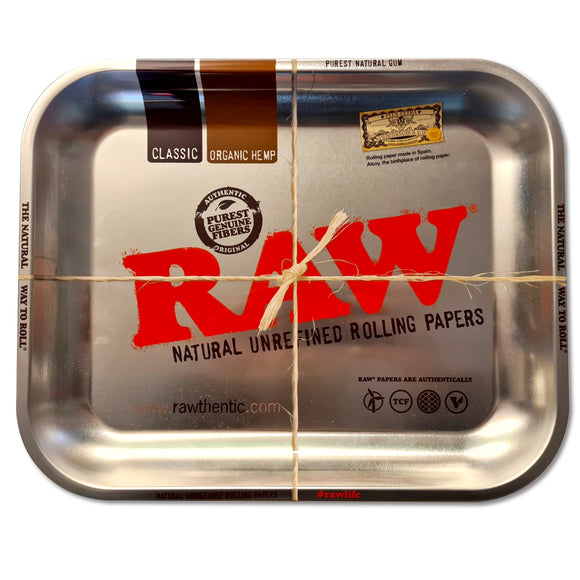 RAW Chrome Rolling Tray Large