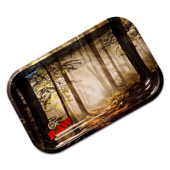 RAW Smokey Forest Rolling Tray Medium