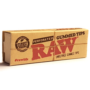 RAW Gummed Perforated tips