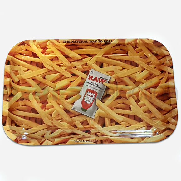 RAW French Fries Rolling Tray Medium