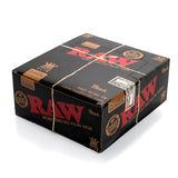 Raw Black King Size Slim Papers full Box