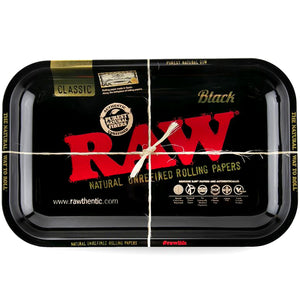 RAW Black Rolling Tray Medium