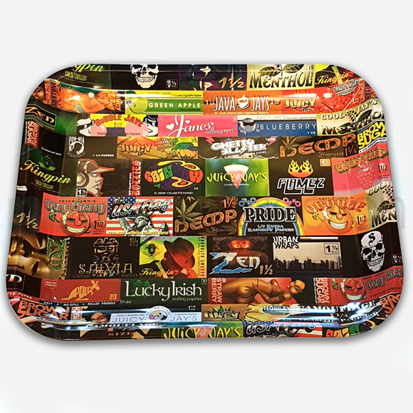 RAW History Lesson Rolling Tray Large