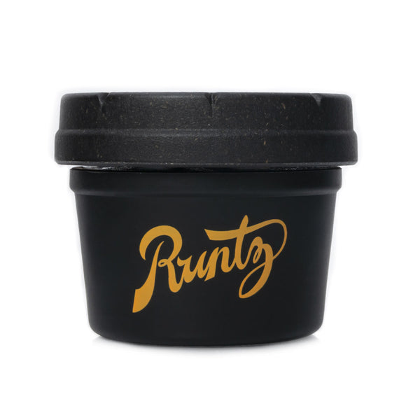 RE:STASH Runtz Black & Gold Mason Stash Jar 4oz