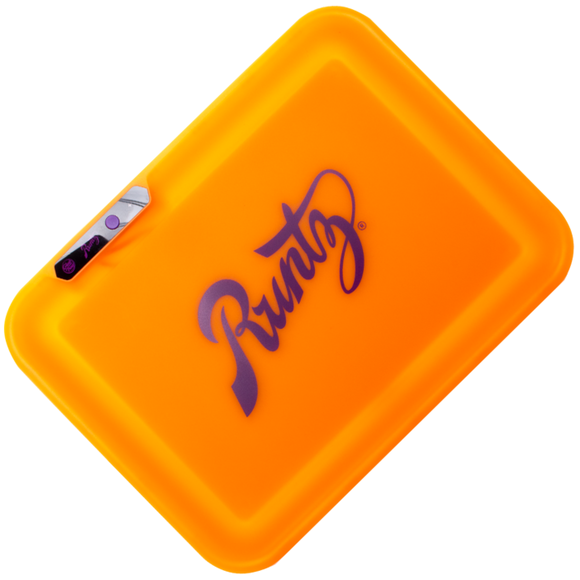 Glow Tray x Runtz LED Rolling Tray (Orange)