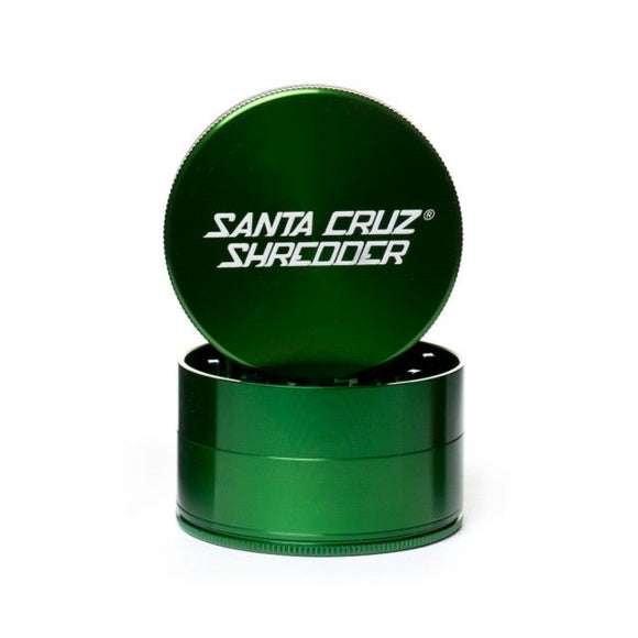 Santa Cruz Shredder 4-Piece Grinder Large Green