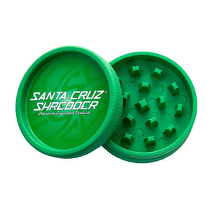 Santa Cruz Shredder Green Hemp Grinder