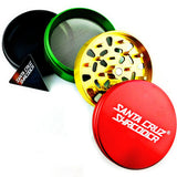 Santa Cruz Shredder 4-Piece Grinder Large Rasta