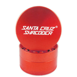 Santa Cruz Shredder 4-Piece Grinder Large Red