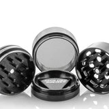 Santa Cruz Shredder 4-Piece Grinder Medium Matte Black