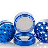 Santa Cruz Shredder 4-Piece Grinder Medium Matte Blue