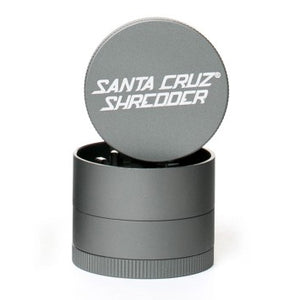 Santa Cruz Shredder 4-Piece Grinder Small Matte Grey