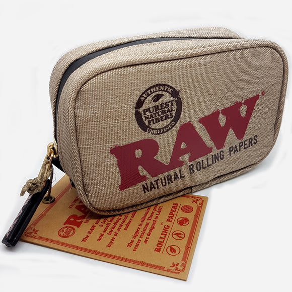RAW Smell Proof Smoker's Pouch Small