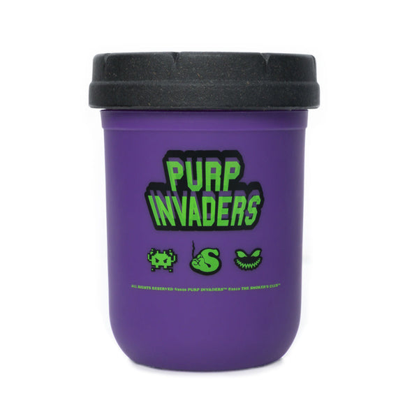 RE:STASH The Smoker's Club Purp Invaders Mason Stash Jar 8oz
