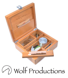 Wolf Productions Deluxe Rolling Box T4