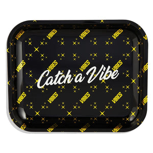 "Vibes Rolling Tray ""Catch a Vibe"" Large"