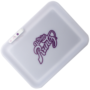 Glow Tray x Runtz LED Rolling Tray (White)