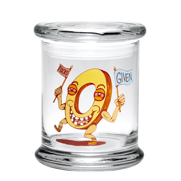 420 Science Zero FG Glass Jar Large