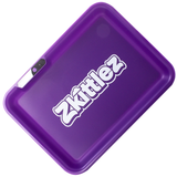 Glow Tray x Zkittlez LED Rolling Tray (Purple)