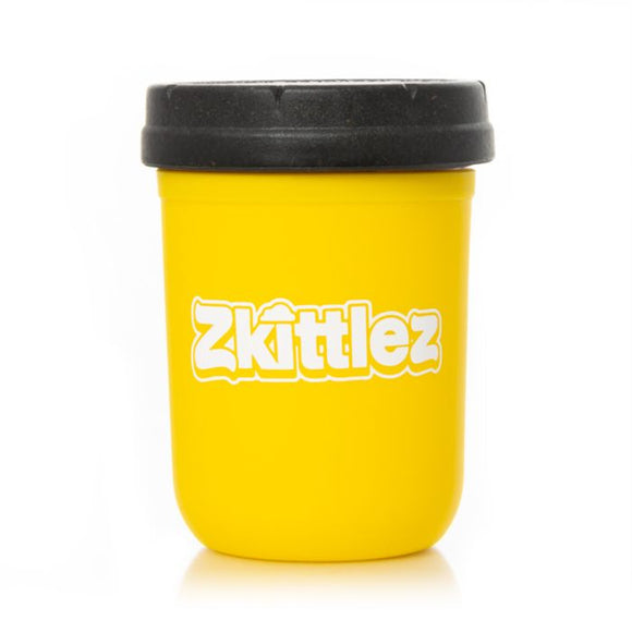 RE:STASH Zkittlez Yellow Mason Stash Jar 8oz