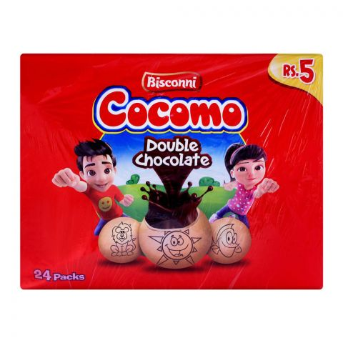 Bisconni Cocomo Double Chocolate, 24 Tikky Packs
