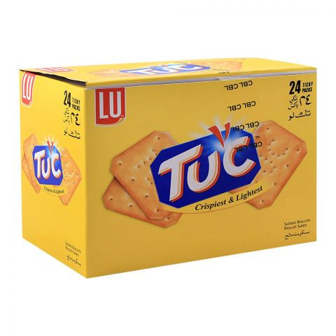 LU Tuc Biscuits, 24 Ticky Packs