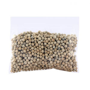 White Pepper Whole (Sufaid Mirch Sabut) 100g