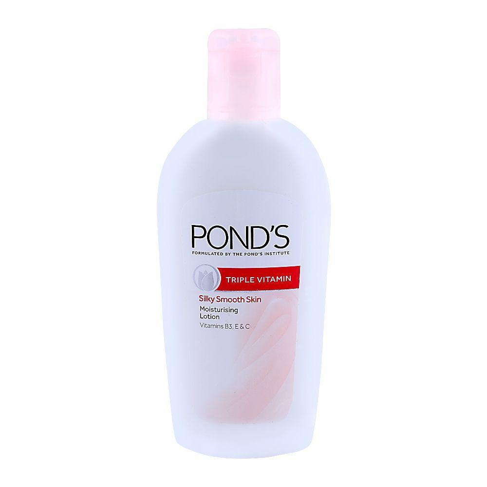 Pond's Triple Vitamin Silky Smooth Skin Lotion 50ml
