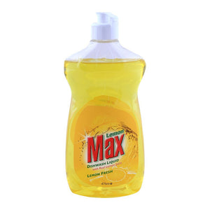 Lemon Max Dishwash Liquid 475ml