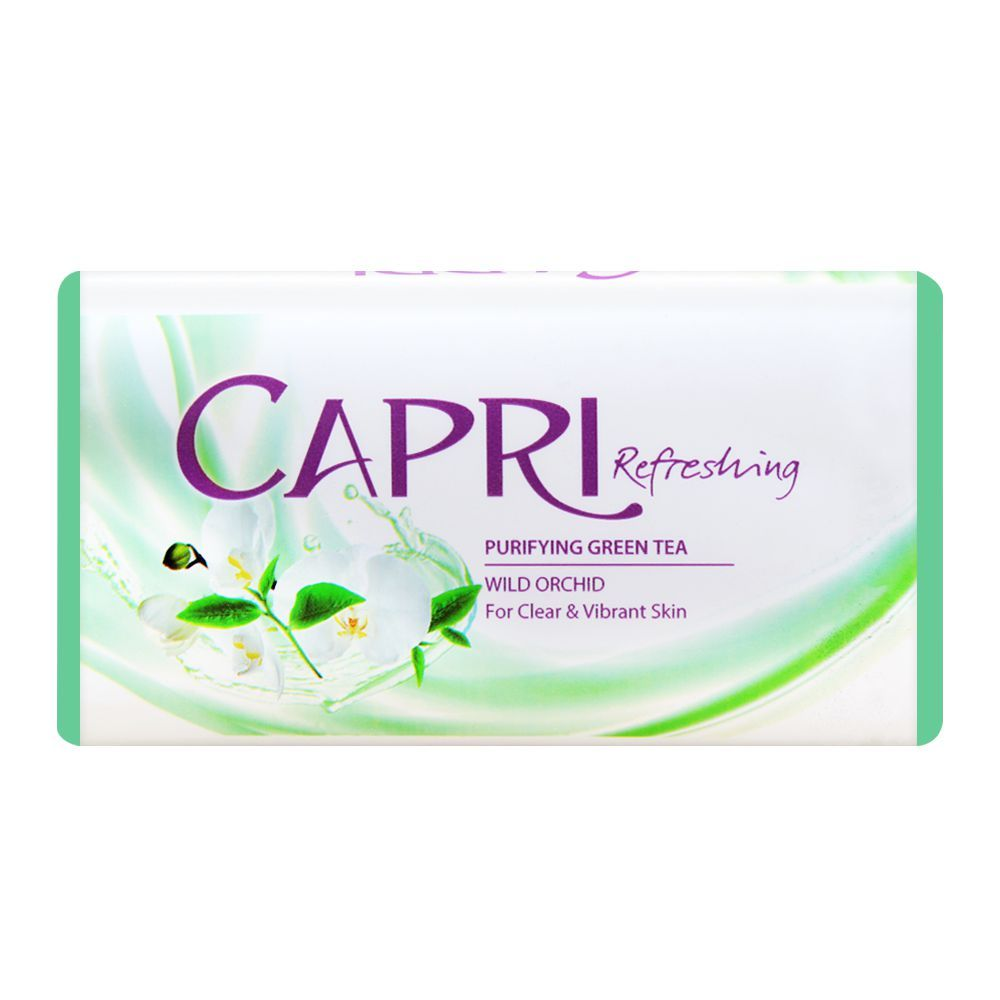 Capri Purifying Green Tea Refreshing Soap 140g