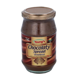 Young's Chocolate Spread 360g Glass Jar