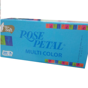 Rose Petal Multi Color 300 Sheets