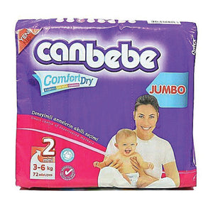Canbebe Diaper Jumbo Pack No. 2