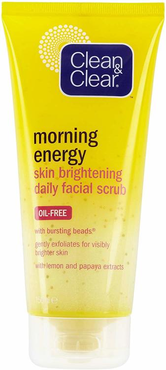Clean & Clean Morning Skin Brightening Daily Facial Scrub