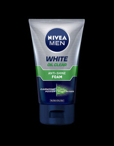 NIVEA MEN WHITE OIL CLEAR ANTI-SHINE FOAM