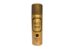 Havoc Gold Body Spray