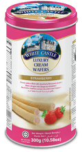 Load image into Gallery viewer, White Castle Luxury Cream Wafers Strawberry